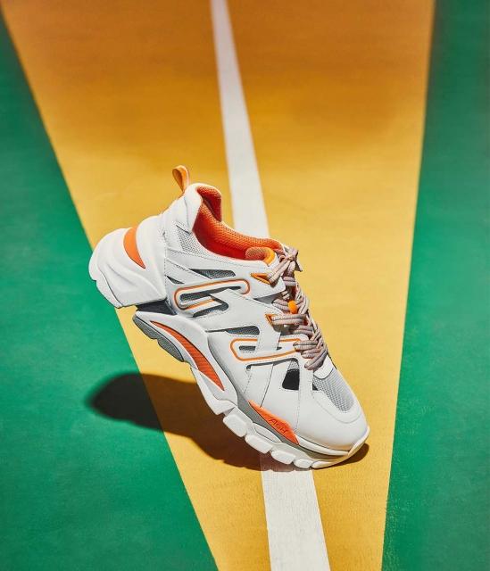 ASH男鞋2019春季新款FREE系列时尚拼接撞色厚底老爹鞋2.0