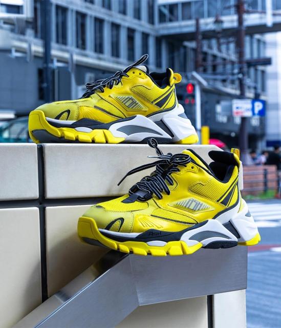 ASH男鞋2020春季新款FRESH時尚潮流撞色增高限定情侶款老爹鞋