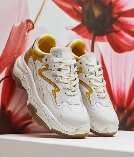 女鞋2020春季新款ADDICT系列時尚潮流休閑撞色做舊增高老爹鞋