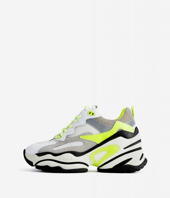 ASH女鞋2020春季新款BLAST時尚潮流低幫休閑運動鞋坡跟增高老爹鞋